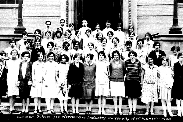 School for Workers class photo circa 1928